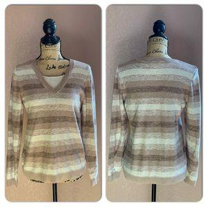 Croft & Borrow V Neck Sweater